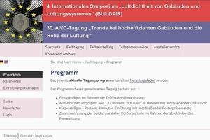 Das Programm, Anmeldemöglichkeiten und Hintergründe bei www.buildair.de<br />