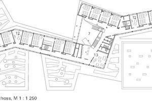 Grundriss 1. und 2. Obergeschoss,M 1:1250