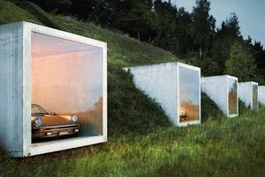 Garagengebäude Herdern (Peter Kunz Architektur, Winterthur)<br />