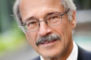 Sigurd Trommer, neugewählter Präsident der Bundesarchitektenkammer<br />