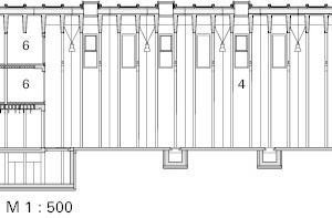 Schnitt AA, M 1:500