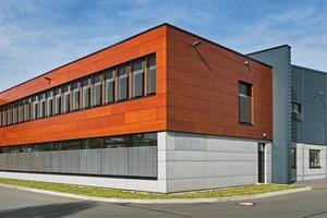 Passivhaus und Sitz eines Herstellers von Passivhaus-Komponenten in Reinsdorf/Sachsen