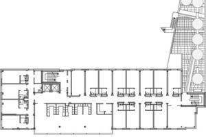 Obergeschoss, M 1:600