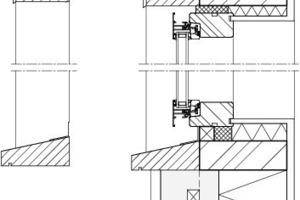 Fensterdetail, M 1:10