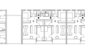 Grundriss Regelgeschoss, M 1:500