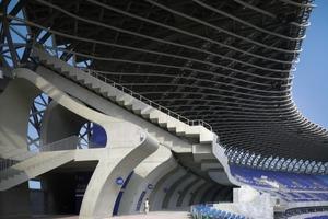 In Toyo Itos Stadion fand<br />am 20. Mai die Eröffnungsfeier der World Games 2009 statt. Das Stadion bietet Platz für Fußball- und Leichtathletikanlagen nach internationalen Standards sowie 55000 Zuschauer<br />