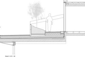 Die gemeinschaftliche Dachterrasse<br />