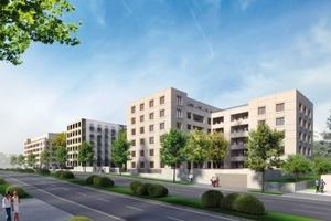 Wohngebäude Hansaallee, Jo franzke Architekten mit Bollinger und Grohmann<br />