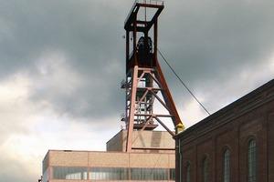 Welt(bau)kulturerbe auf Zollverein (das Partyzelt ist temporär)<br />