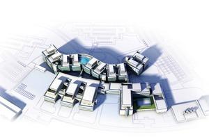 Die modellbasierte Planung garantierte eine deutliche Optimierung des Projektablaufs: In jeder Phase konnten anhand des digitalen Modells Lösungsvarianten entwickelt und überprüft werden