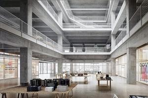 Verschiedene Nutzungen haben die Architekten für die ehemalige C&A-Filiale vorgesehen – Co-Working, Manufakturen, Buchhandlungen etc.