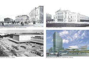 Geschichtliche Entwicklung des Wiener Hauptbahnhofs