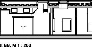 Schnitt BB, M 1:200