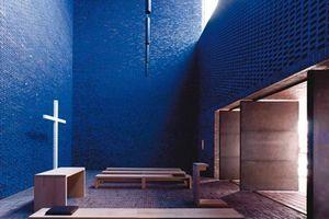 """1. Platz Gesamtsieger<br /> Sieger Kategorie """"Öffentliche Bauten, Sport und Freizeit""""<br />  Projekt: Dominikuszentrum München<br /> Baujahr: 2008<br /> Architekt: meck architekten, Prof. Andreas Meck, München"""