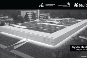 Der Preis des Deutschen Stahlbaues geht 2014 an Glass Kramer Löbbert BDA gemeinsam mit Prof. Uta Graff Architektin BDA für den Forschungsbau :envihab in Köln-Porz
