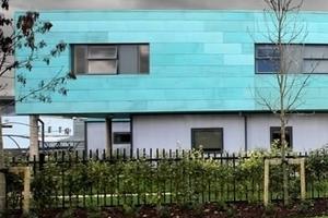 Cleeve School, Cheltenham/GB - cube design, Ringwood