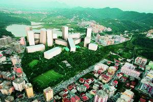 """""""Tirana Rocks"""", Haufensiedlung im Süden einer prosperierenden Metropole"""