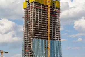 Für das neue EZB-Ensemble wurde eine Nutzfläche von rund 184 000 m² gefordert