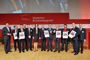 """Team Erba-Steg Bamberg, Sieger in der Kategorie """"Fuß- und Radwegbrücken"""""""