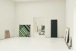 Transluzente, transparente Lichtdecke in den innenliegenden Ausstellungssälen im OG