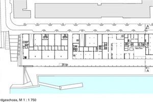 Grundriss Erdgeschoss, M 1:1750