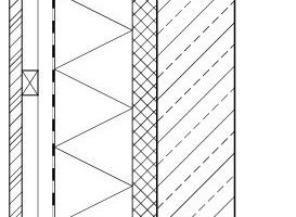 Detail 4, Wand Kellergeschoss, M 1:15<br />