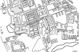 Lageplan, M 1:12500