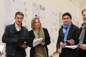Jury v.l.: Christoph Edler, Christoph Gengnagel, Claudia Lüling, Heiner Lippe, und Burkhard Fröhlich<br />