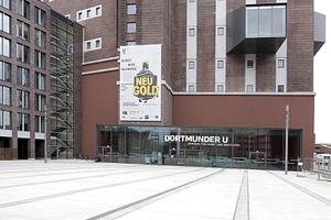 Das Dortmunder U, heute Kulturtempel und Kern des U-Viertels in Dortmund, das mit Inbetriebnahme der Schulen mehr Leben eingehaucht bekommt
