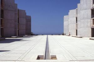 Salk Institute in La Jolla, Kalifornien, Louis Kahn, 1959–65 © The Architectural Archives, University of Pennsylvania