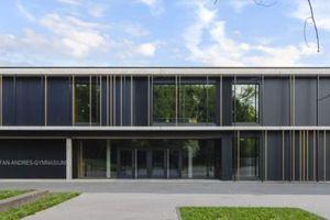 Anerkennung: Neubau Stefan-Andres-Gymnasium mit Mensa und Bürgerzentrum, Schweich, Harter + Kanzler freie Architekten BDA, Freiburg