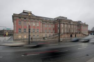 Landtag Brandenburg, Schlossrekonstruktion in der Fertigstellung 2014