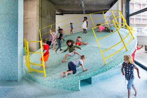 Ausstellungsansicht »The Brutalist Playground«, S1 Artspace, Sheffield, 2016
