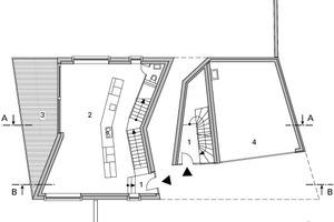 Grundriss Erdgeschoss, M 1:250
