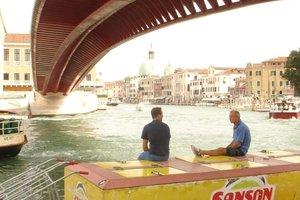 Die vierte Brücke über den Canal Grande in Venedig. Arch.: Santiago Calatrava