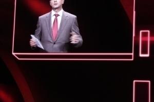 """Audi Vorstandsvorsitzender, Rupert Stadler zur Weltpremiere des neuen Modells """"Urban Concept"""""""