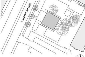 Lageplan, M 1:1250<br />