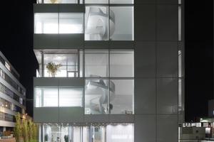 Kategorie: Büro und Verwaltung Projekt: Novartis Campus Basel, Maki Bürogebäude LichtKunstLicht AG, Martina Weiss, Thomas Möritz, Andreas Schulz (Foto: Lukas Roth)
