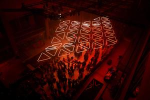 Kinetische Raumkunst von Christopher Bauder im Monsonturm