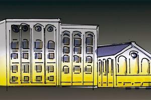 Eine Gestaltungslösung mit abnehmender Intensität bei zunehmender Fassadenhöhe kann der bessere und energiesparende Weg sein