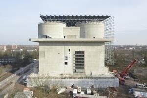 Energiebunker im März 2013
