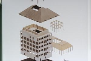 Ungers Entwurf für die Haus-in-Haus-Konzeption des DAM, die so radikal am Ende nicht umgesetzt wurde<br /><br />