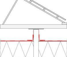 Abb. 4: Die Befestigung durch die Funktionsschichten einer Abdichtungsmaßnahme hindurch im Traguntergrund erfordert die sichere Einbindung in die Dachabdichtung. Dies ist materialhomogen bei Kunststoffdachbahnen mit entsprechenden Manschetten problemlos möglich