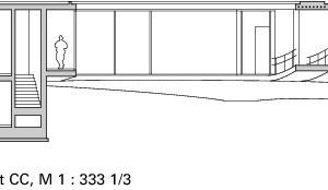 Schnitt CC, M 1:333 <sup>1</sup>/3<br />
