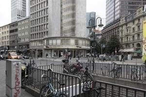 Der alte EZB-Tower im Herzen der Stadt ... wer wird ihm demnächst die Ehre geben?
