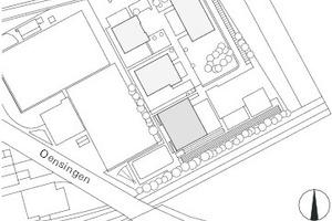 Lageplan, M 1:5500