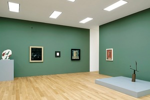 Ausstellungsebene im Obergeschoss