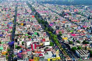 Mexico City, eine, wenn nicht die Urban Agglomeration