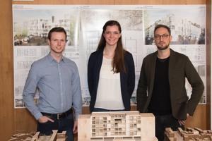 """Anerkennung: """"Living Station"""" von Johannes Dangelmeyer, Vera Kramer und Kai Hammelsbeck, Hochschule Bochum"""
