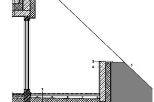 Fassadendetail, M 1:100
